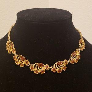 Vintage Bogoff Gold Tone Necklace